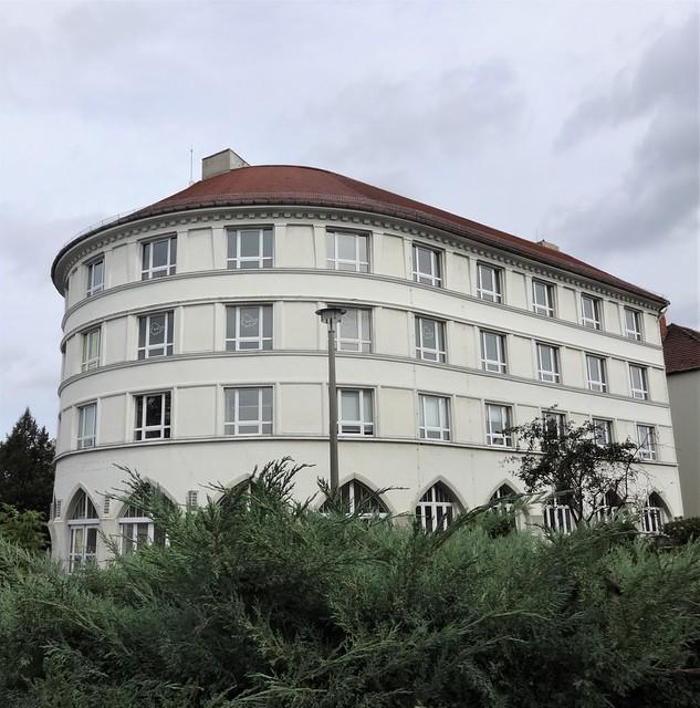 1927 Halberstadt Heinehaus Wohn- und Geschäftshaus von Paul Schaeffer-Heyrothsberge Wilhelm-Trautewein-Straße/Richard-Wagner-Straße 67-68 in 38820