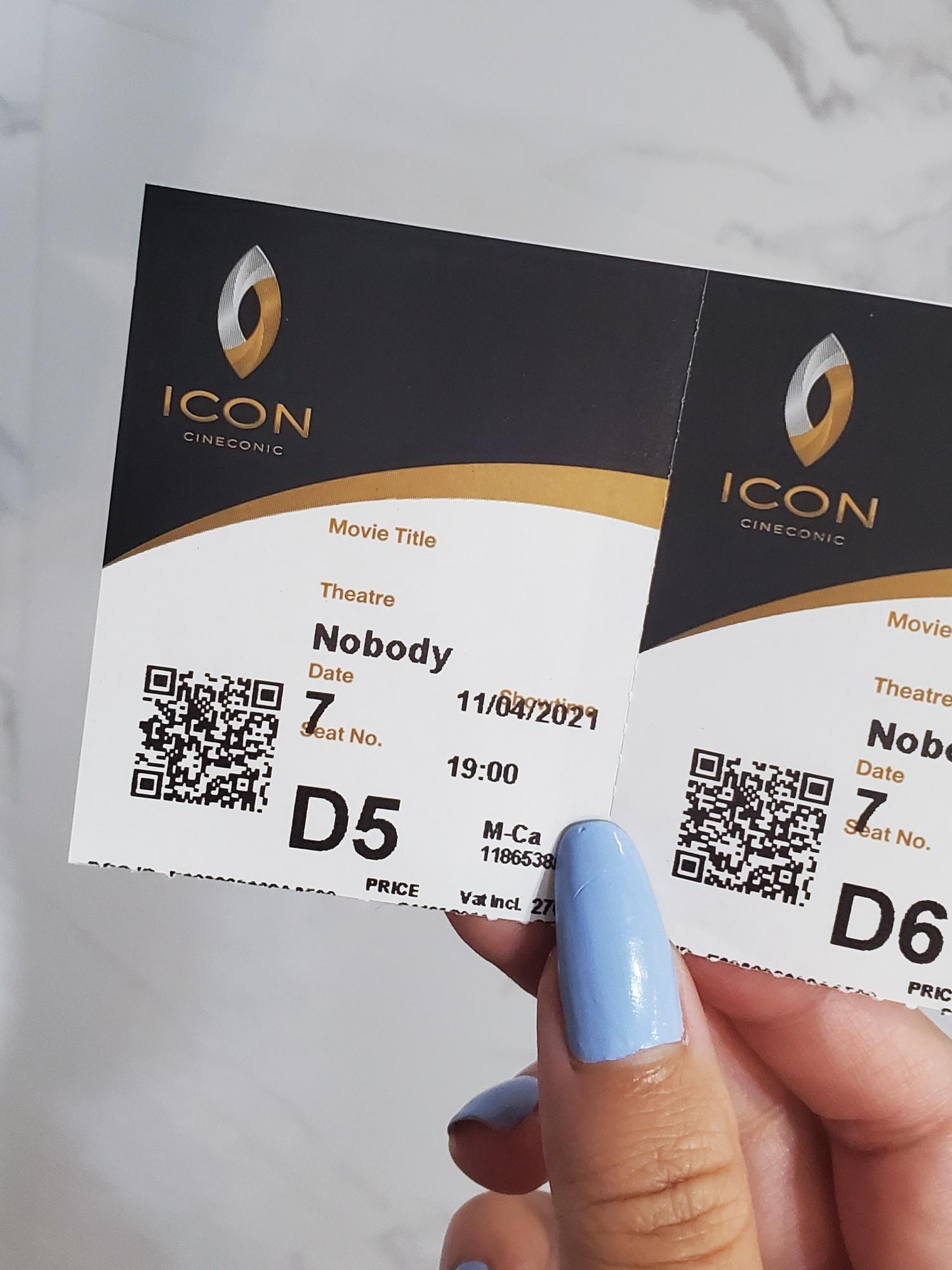 Icon Cineconic Nobody