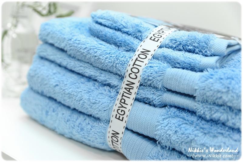Canningvale 毛巾6件組 100%埃及棉