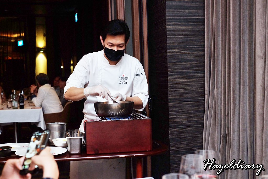 Grissini Grand Copthorne Waterfront Hotel-Chef Kenny Huang
