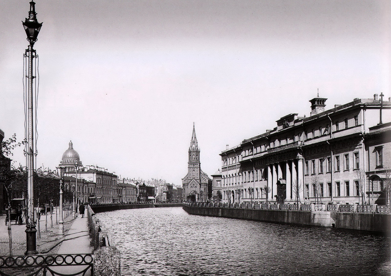 1902. Река Мойка у Юсуповского дворца