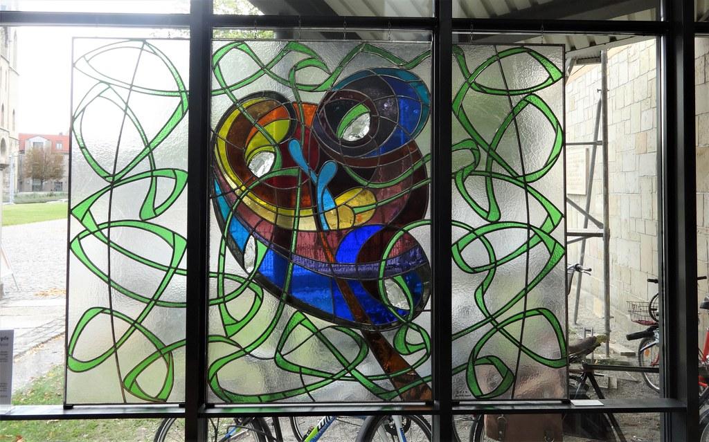 2014 Halberstadt Gleims Freundschaften Glaskunst von Hans-Georg Losert/Birk-Andreas Losert Stadtarchiv Gleimstraße 31 in 38820