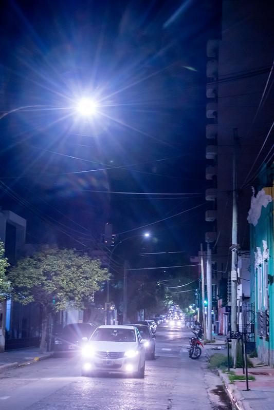 Iluminación LED en barrio Güemes (3)