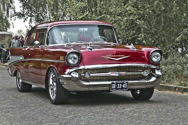 Chevrolet Bel Air Sedan 1957 (8298)