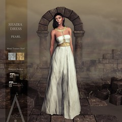 .AiShA. Shaira Dress Pearl @FF2021
