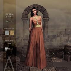 .AiShA. Shaira Dress EARTH @FF2021