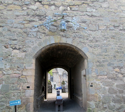 Entrance, Falkland Palace