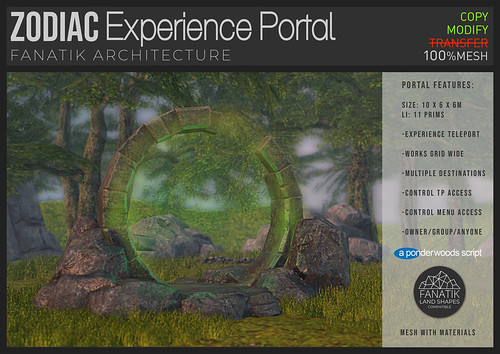 Fanatik Zodiac teleport portal