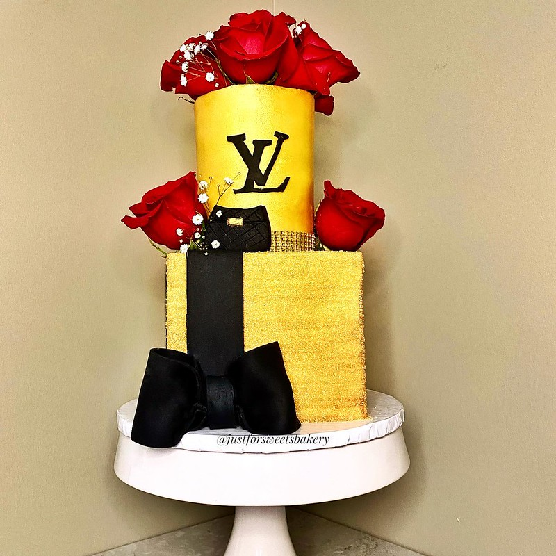 Cake by Just For Sweets Bakery