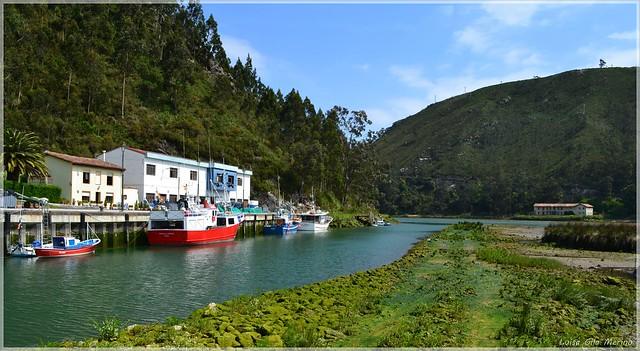 Embarcadero de Bustio - Asturias