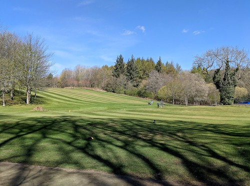 Balbirnie fairway, Fife, golf course