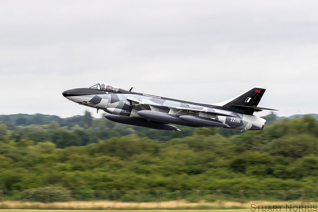 Hunter F58A ZZ191 -  Hawker Hunter Aviation Ltd - RAF Scampton