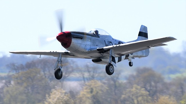 North American P51D Mustang G-SHWN 413779