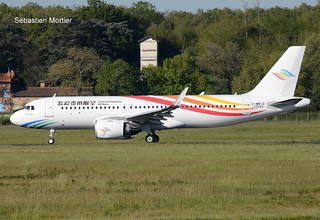 320.251-NEO COLORFUL GUIZHOU AIRLINES F-WWIZ 10543 TO B- 23 04 21 TLS