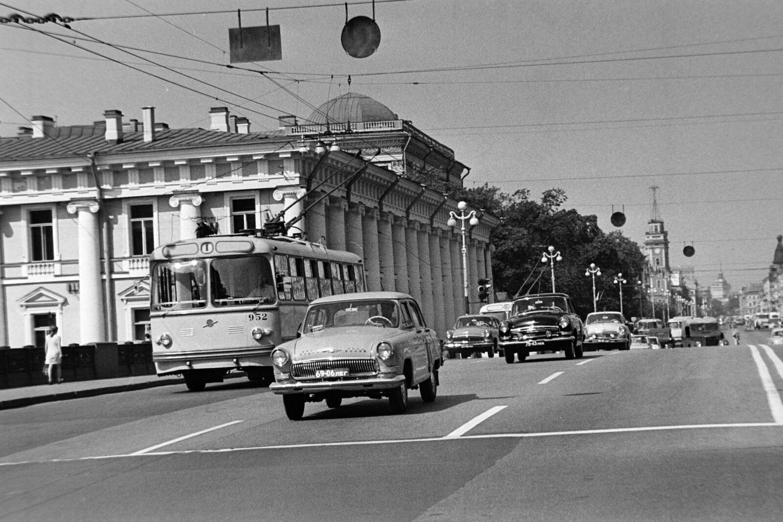 1970. Ленинград. Невский проспект