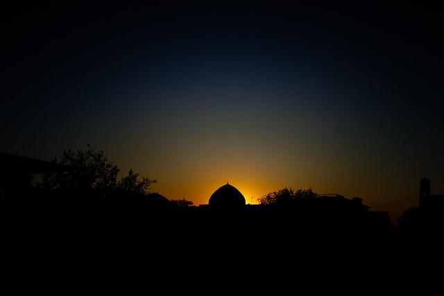 Sunset at Khiva