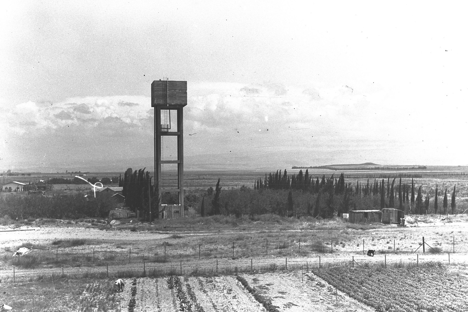 1938. Окрестности Хайфы. Поселение в районе Хайфского залива