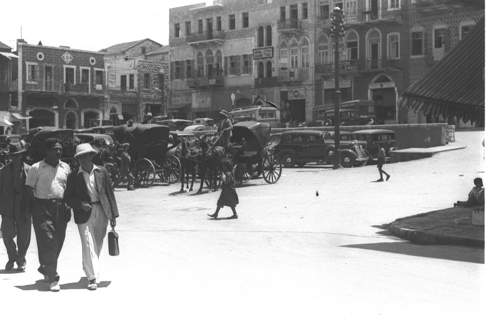 1934. Площадь Хамра (сейчас Кикар Парис)