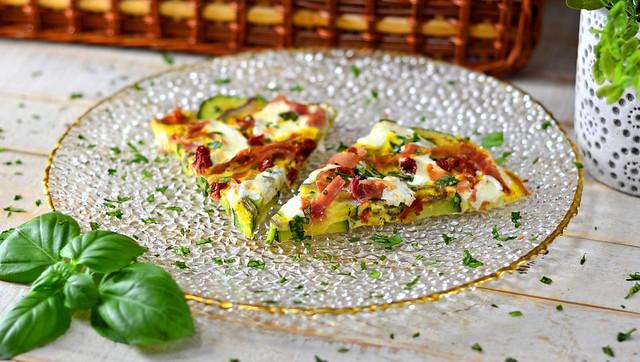 Zucchini Frittatas Cropped