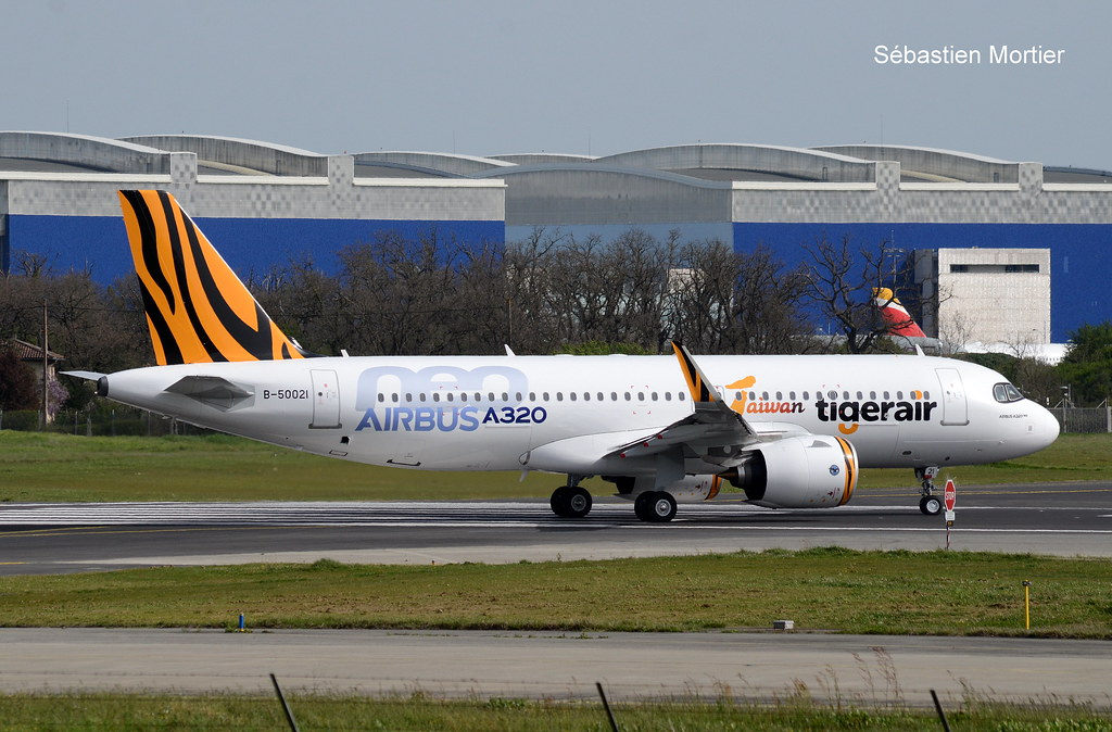 320.271-NEO TIGERAIR TAIWAN B-50021 10682 FIRST 320NEO FOR TTW DELIVERY FLIGHT 31 03 21 TLS