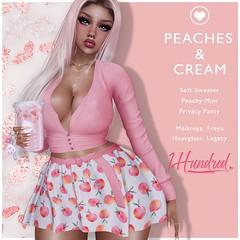 1 Hundred. Peaches & Cream