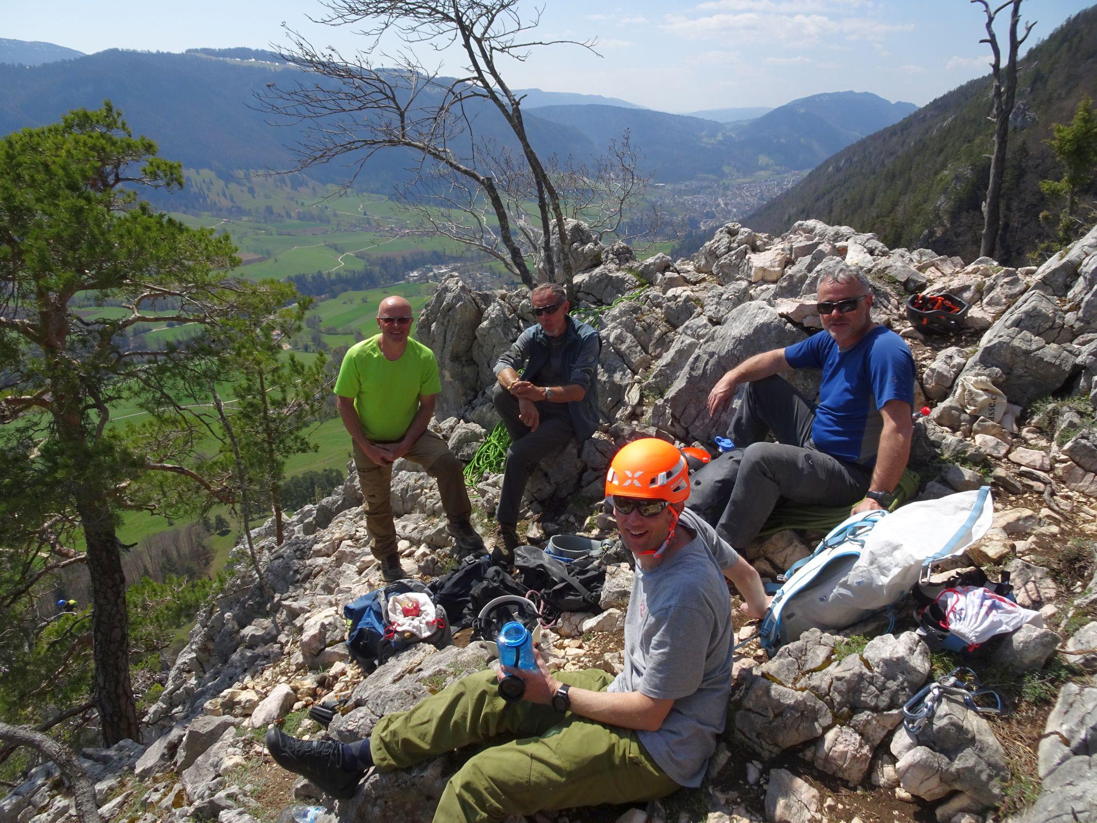 Klettern Grandval 24.04.2021