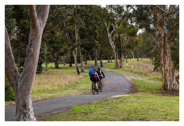 Sunday cyclists