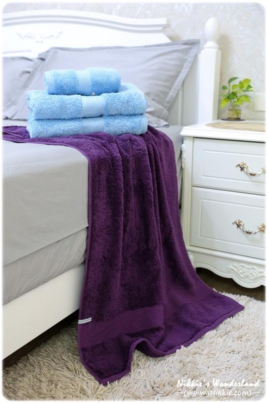 澳洲Canningvale 埃及皇家毛巾6件組 100%埃及棉