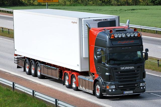 S - Scania R V8 Topline - Englafrakt