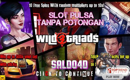 Judi Slot Wild Triads Top Trend Gaming SALDO4D