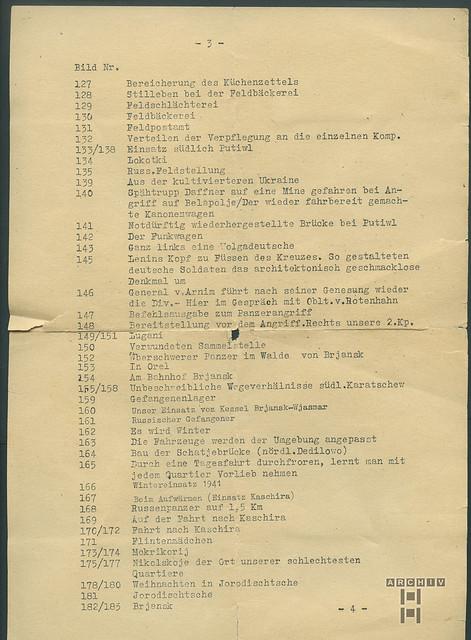 ArchivTappen23AAl2i446 Meine Dienstzeit, Rußlandfeldzug, WWII, 1939-1945
