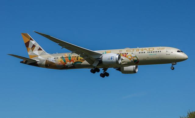 A6-BLH Boeing 787-9 Dreamliner Etihad Airways