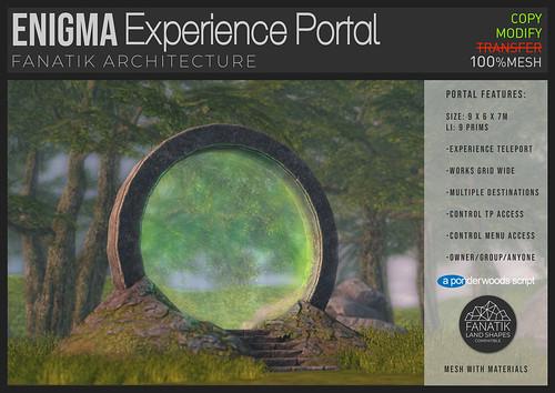 Fanatik Enigma teleport portal