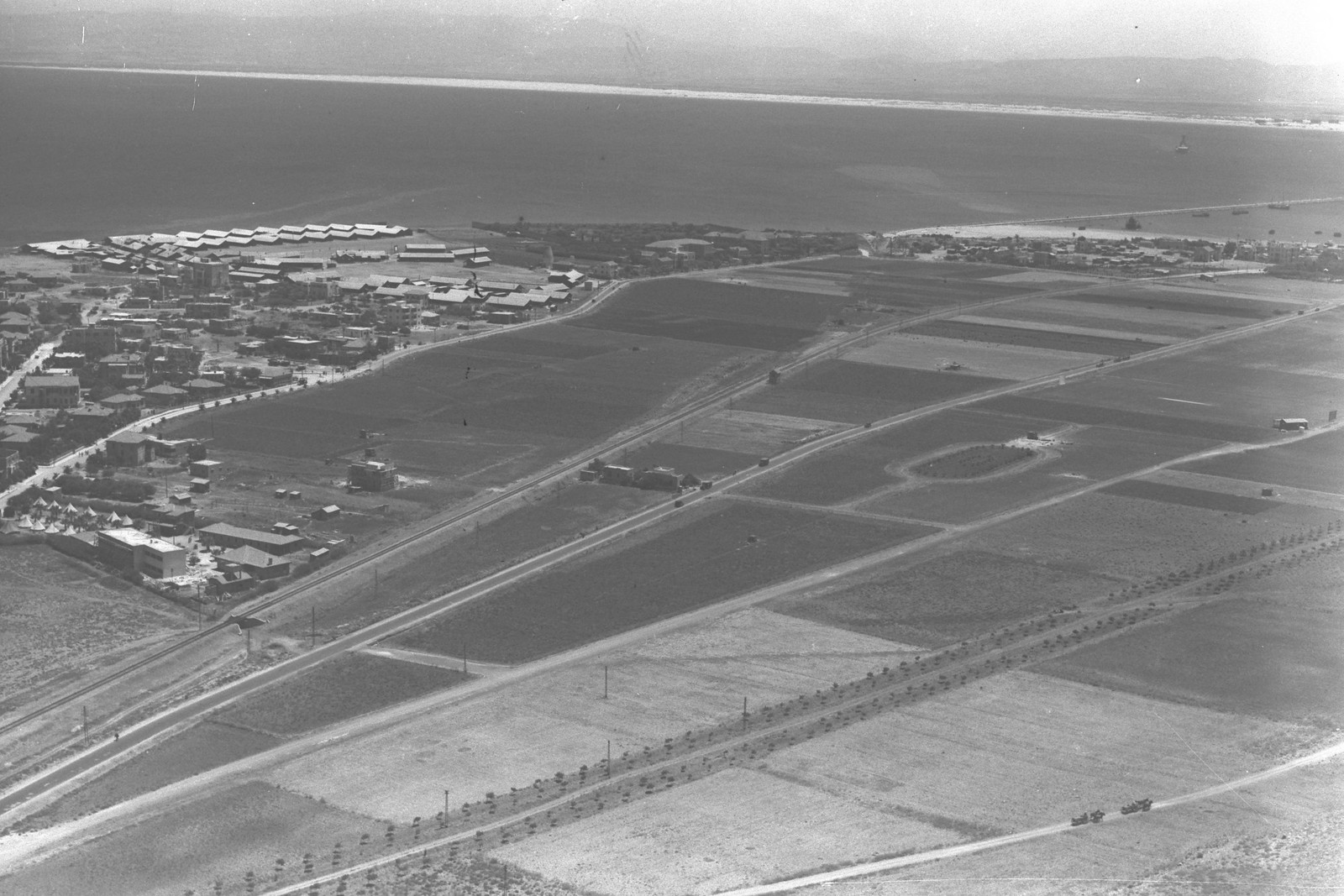 1934. Хайфа. Район Бат-Галим с воздуха