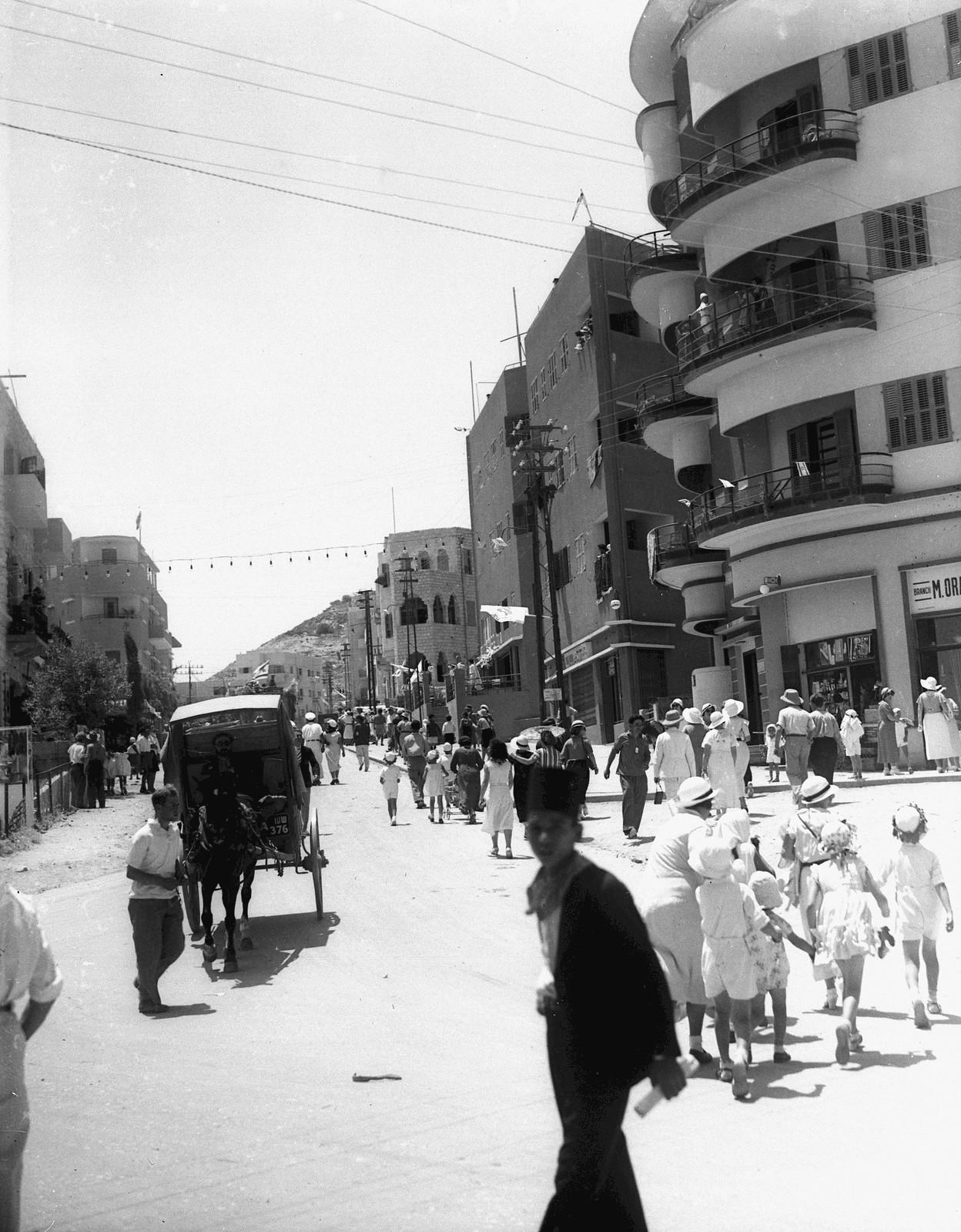 1933. Хайфа. Улица Арлозорова