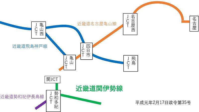 名二環が近畿自動車道伊勢線である件 (3)