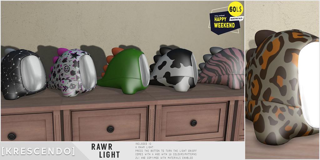 [Kres] Rawr Light for Happy Weekend