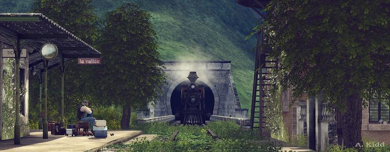 Mystery Train (2) - La Vallée - Landscapes Unlimited 50K Contest - Entry 2