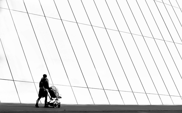 mother with her buggy
