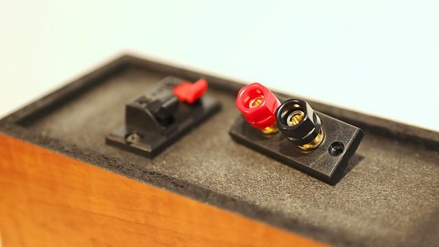 Speaker terminal.
