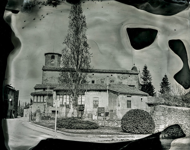Primer col·lodió perafitenc / Wet plate in the village