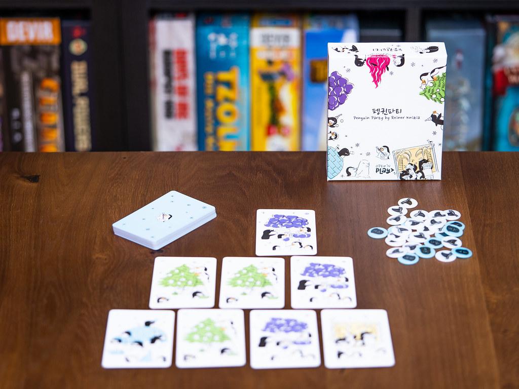 Penguin Party boardgame juego de mesa