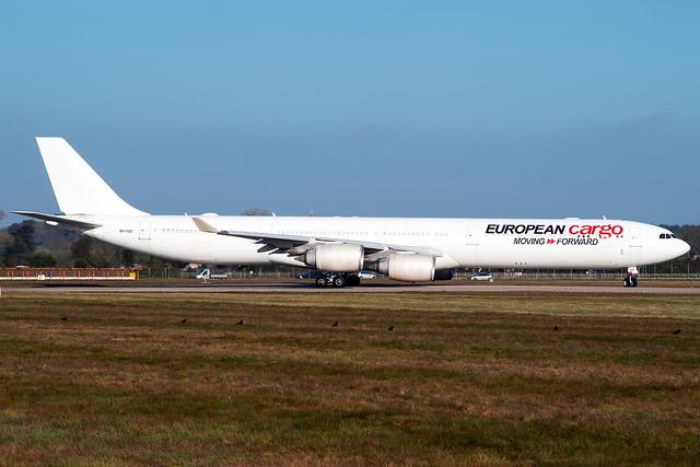 9H-PGS | Airbus A340-642 | European Cargo