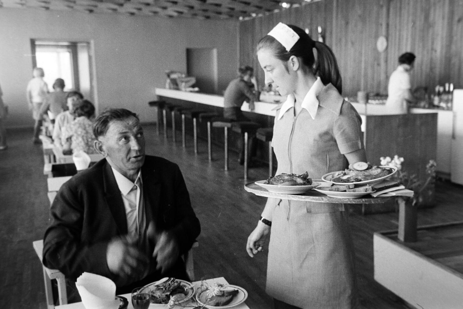 1970. Ленинград. Ресторан
