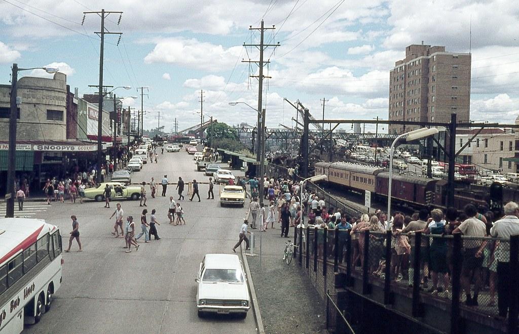Granville Rail Disaster, Granville, Sydney, NSW.