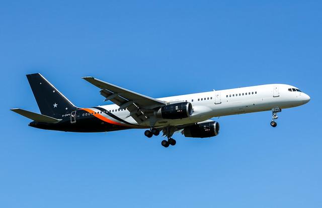 G-ZAPX Boeing 757-256 Titan Airways
