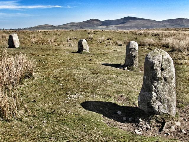 Kinniside Stone Circle (aka Blakeley Raise)