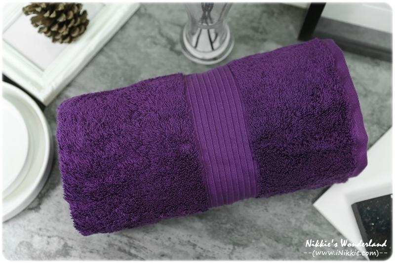 澳洲Canningvale 埃及棉 毛巾組 紫色