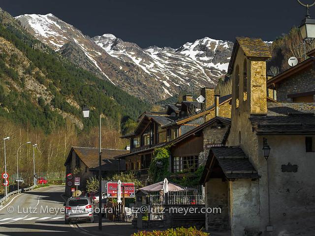 Andorra mountain landscape: La Massana, Vall nord, Andorra