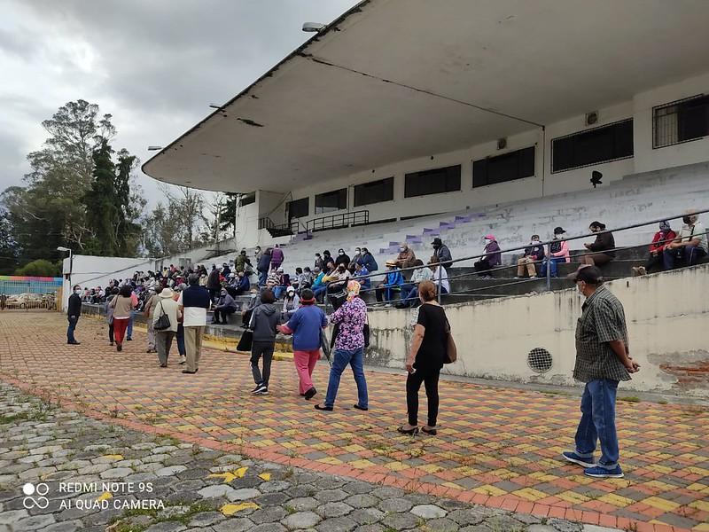 Centro de Exposiciones Quito activo para superar la pandemia
